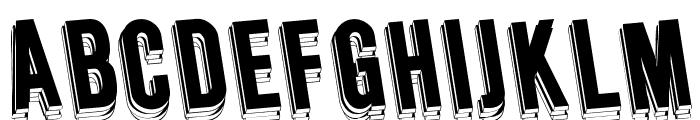 Wafer Regular Font UPPERCASE