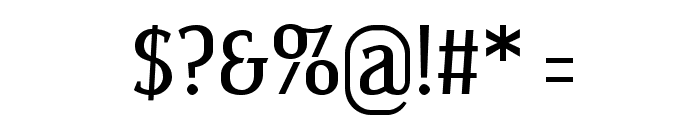 Wagashi Serif Font OTHER CHARS