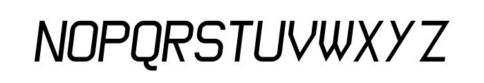 Wagon Sans Italic Font UPPERCASE
