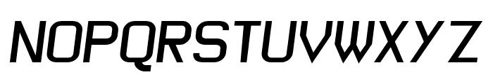 Wagon Sans Two BoldItalic Font UPPERCASE