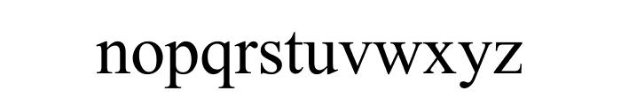 WahabSahito Font LOWERCASE