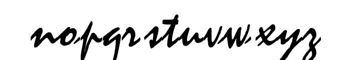 WaifSSK Font LOWERCASE