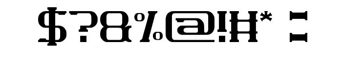Wajah mu Malaikat Font OTHER CHARS