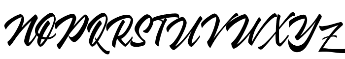 Wakanda Font UPPERCASE