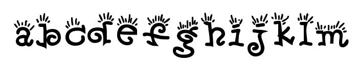 Wake & Bake Font LOWERCASE