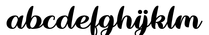 Wake The Warrior Regular Font LOWERCASE