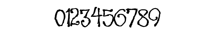 Waking the Witch Font OTHER CHARS