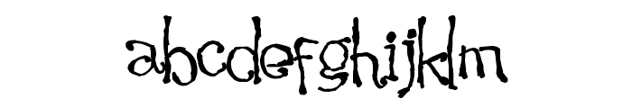 Waking the Witch Font LOWERCASE