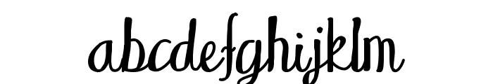 WakingUp Font LOWERCASE
