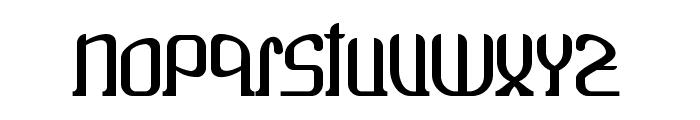 Wako Font LOWERCASE