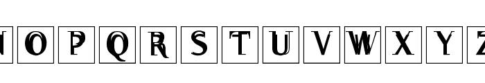 WalNussCaps Font UPPERCASE