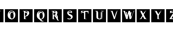 WalNussCaps Font LOWERCASE