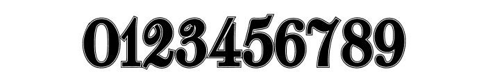 Walbaum-Fraktur Inline Bold Font OTHER CHARS