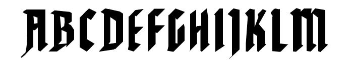 WaldarbeiterGotisch Font UPPERCASE