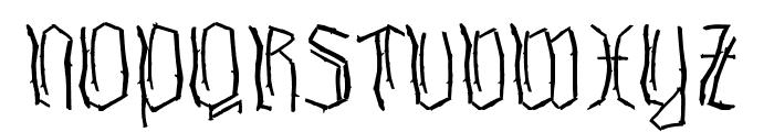 Waldschraz Font UPPERCASE