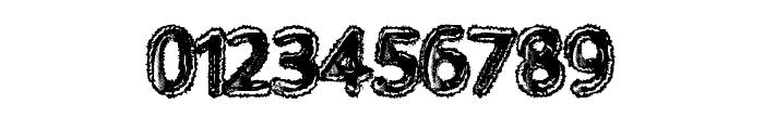 WalkingDead Font OTHER CHARS