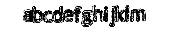 WalkingDead Font LOWERCASE