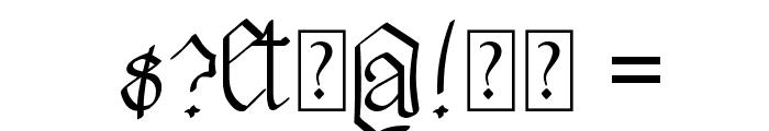 Walkiria Font OTHER CHARS