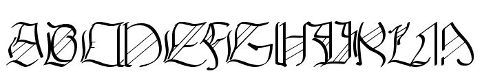 Walkiria Font UPPERCASE
