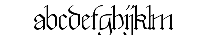 Walkiria Font LOWERCASE