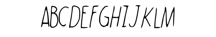 WalkonFire Font UPPERCASE