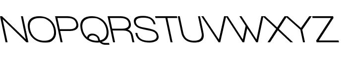 Walkway Bold RevOblique Font UPPERCASE