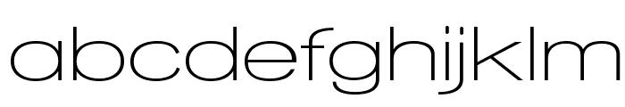 Walkway Expand SemiBold Font LOWERCASE