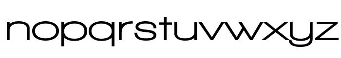 Walkway Expand UltraBold Font LOWERCASE