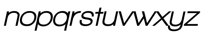 Walkway Oblique UltraBold Font LOWERCASE