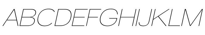 Walkway Oblique Font UPPERCASE