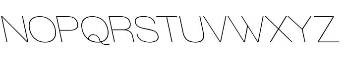 Walkway RevOblique Font UPPERCASE