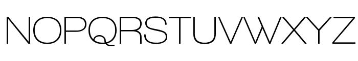 Walkway SemiBold Font UPPERCASE