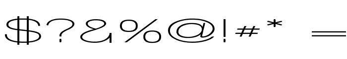 Walkway UltraExpand SemiBold Font OTHER CHARS