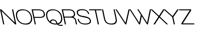 Walkway Upper Bold RevOblique Font UPPERCASE