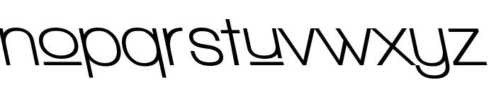 Walkway Upper Bold RevOblique Font LOWERCASE