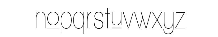 Walkway Upper Condensed Font LOWERCASE