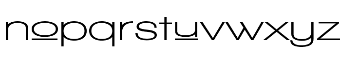 Walkway Upper Expand Bold Font LOWERCASE