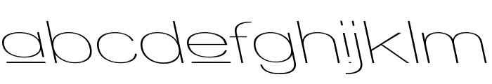 Walkway Upper Expand RevOb Font LOWERCASE