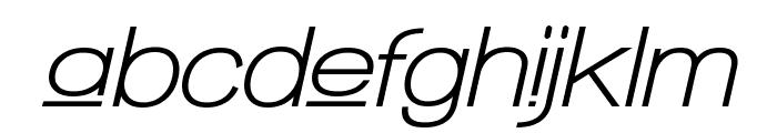 Walkway Upper Oblique Bold Font LOWERCASE