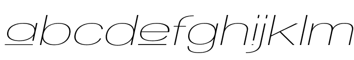 Walkway Upper Oblique Expand Font LOWERCASE