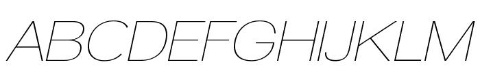 Walkway Upper Oblique Font UPPERCASE