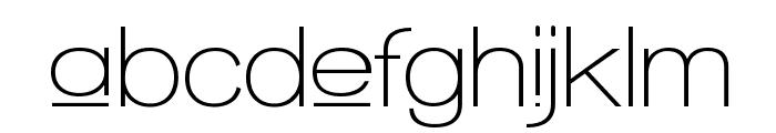 Walkway Upper SemiBold Font LOWERCASE