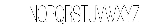 Walkway Upper UItraCondensed Font UPPERCASE