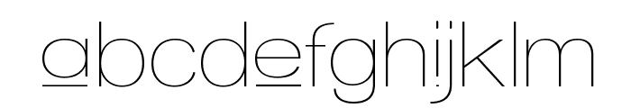 Walkway Upper Font LOWERCASE