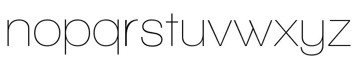 Walkway Font LOWERCASE