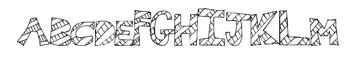 WallFresh Font UPPERCASE
