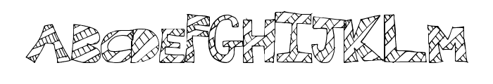WallFresh Font LOWERCASE