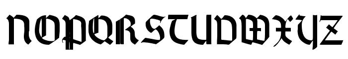 Wallau Zier  Bold Font LOWERCASE
