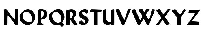 WallauUnzial-Bold Font UPPERCASE