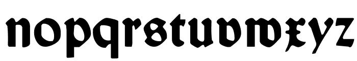 WallauUnzial-Bold Font LOWERCASE